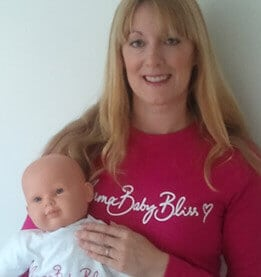 baby massage baby yoga class | Sam Blaney